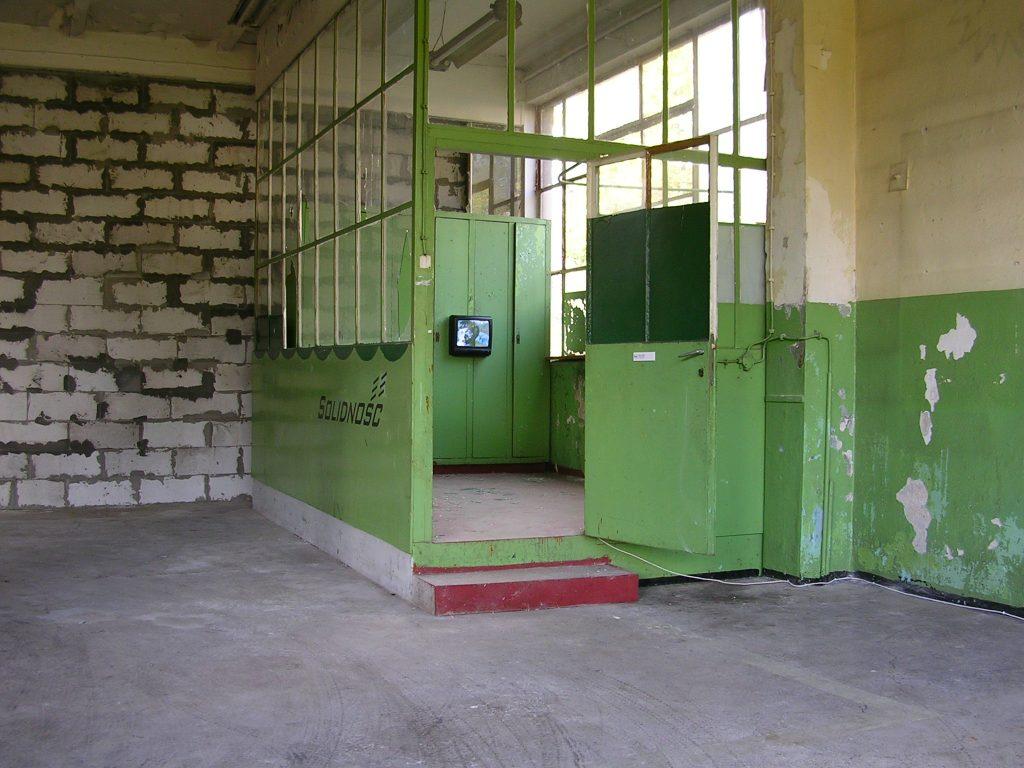 G. Klaman, SOLIDNOŚĆ, instalacja, IS Wyspa, 2004, fot. G.K