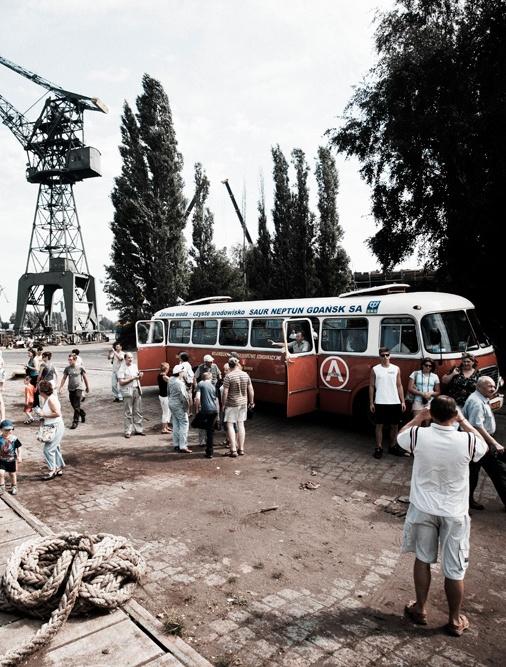 Grzegorz Klaman, Subiektywna linia autobusowa, fot. Michał Szlaga